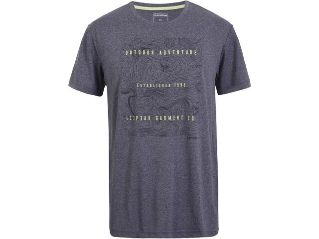 Icepeak Bancroft T-shirt Herrer, lead-grey